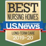 Best Nursing Homes U.S. News badge 2019-2020