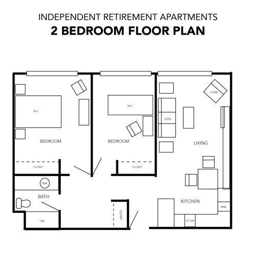 Independent Living Retirement Floor Plans