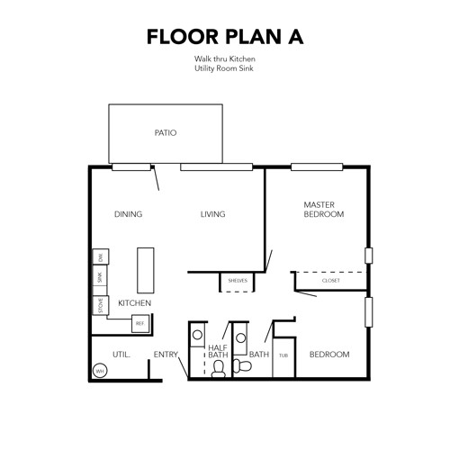 Independent Living Floor Plan A