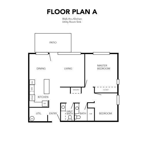 Independent Living Floor Plan A