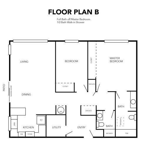 Independent Living Floor Plan B