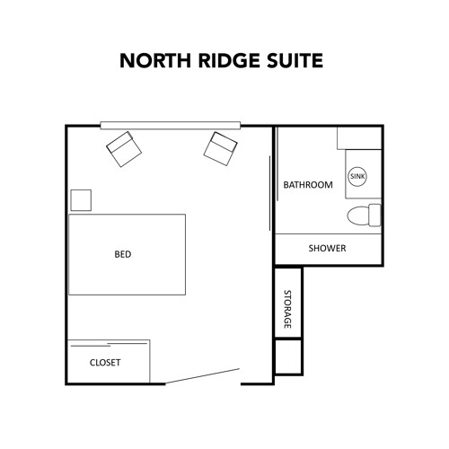 Assisted Living North Ridge Suite