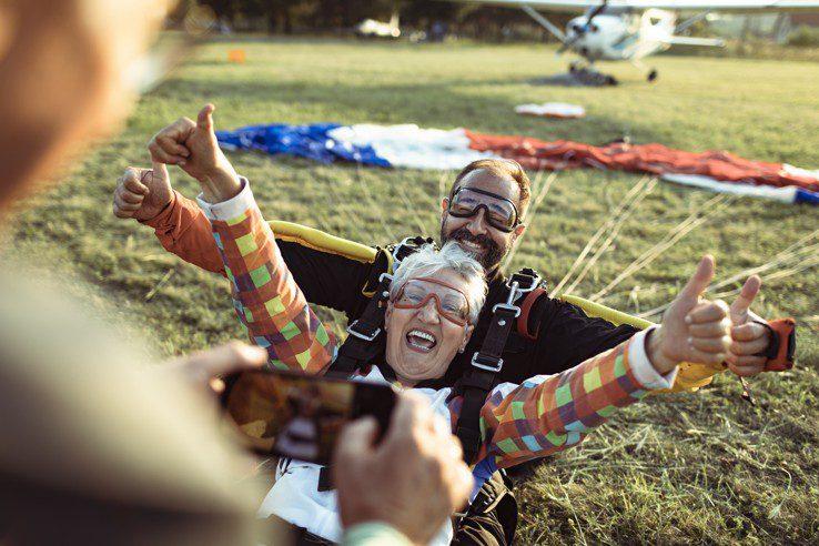 Tandum skydiving